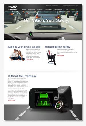 Mobileye US website